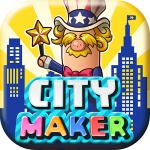 住民からの要望に応えながら、フレンドと協力してマイシティを発展させよう!『シティメーカー』配信開始