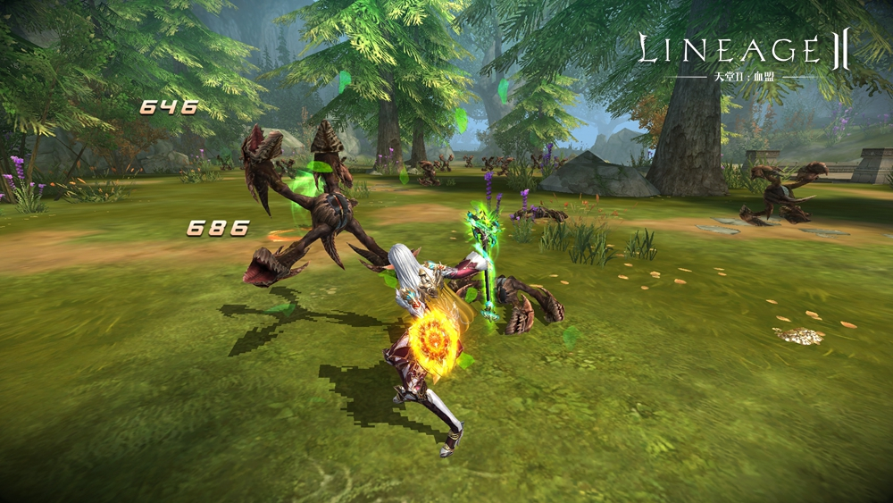 Lineage 2のIPを活用したモバイルゲーム。 中国Snail Gamesが開発。