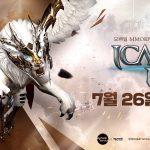 【韓国】『イカロスM』正式サービス開始日が7月26日に決定