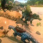 『アークモバイル』日本語版が配信開始!数々の恐竜や古代生物が生息する島を舞台にした極限のサバイバル