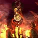『アヴァベルオンライン』灼熱の炎が燃え上がる新マップ「火山階層51F-ニアム-」実装