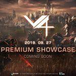 MMORPG『V4』9月27日にショーケースを開催し詳細を公開予定。リアルタイムワンテイクプレイ動画を公開