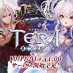 MMORPG『テラオリジン』本日(10月10日)11時より正式サービス開始!