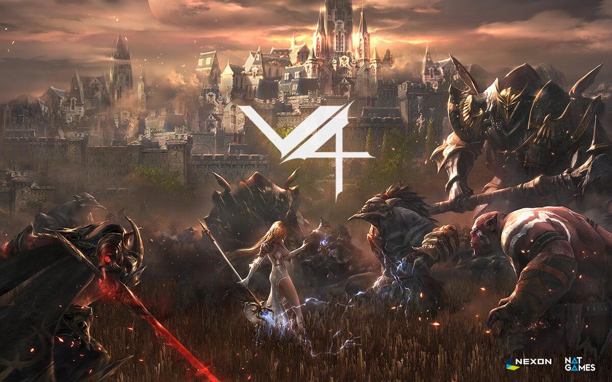 韓国】MMORPG『V4』サービス開始。しかしGoogle Playでの評価は「2.6」と非常に低い